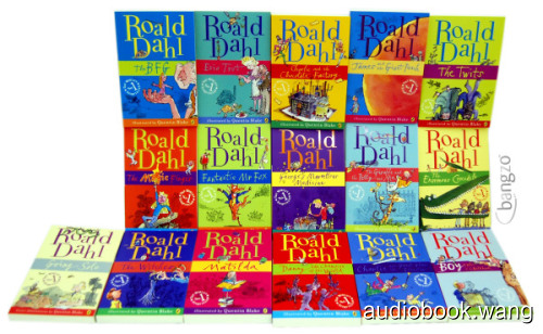 Roald Dahl Unabridged (mp3) 1.66GB