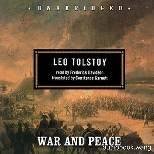 War and Peace Unabridged (mp3音频+pdf+txt) 61hrs