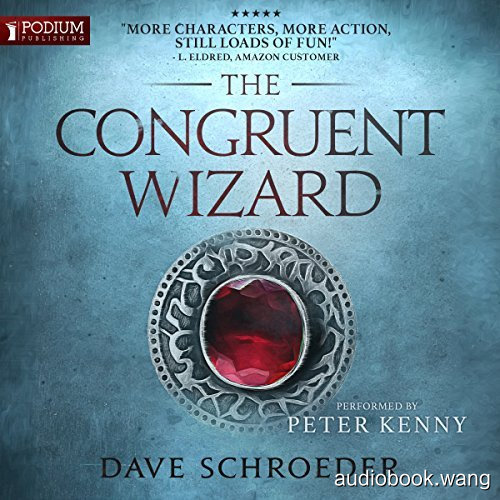 The Congruent Wizard: The Congruent Mage, Book 2  - Dave Schroeder Unabridged (mp3/m4b音频) 347.94 MBs