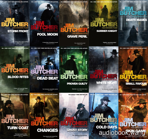Dresden Files 1-15 + Shorts - Jim Butcher Unabridged (mp3/m4b音频) 6.2 GBs