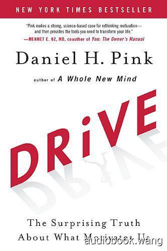 Drive - Daniel H. Pink Unabridged (mp3/m4b音频) 173.17 MBs
